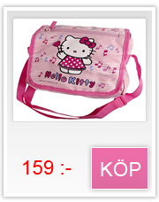 Hello Kitty svart Axelväska